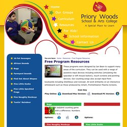 Priory Woods School and Arts College - Free Program Resources