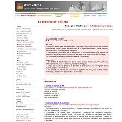 4e > Informer, s'informer... Séquences