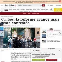 Collège : la réforme avance mais reste contestée, Société