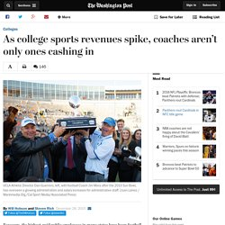 As college sports revenues spike, coaches aren't only ones cashing in