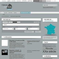 """""""Révolte"""" et """"XXe et XXIe s."""" - Portail Histoire des arts, Cutlure.fr"""