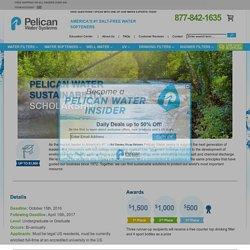 College Scholarship Contest - Pelican Water