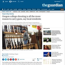 Oregon college shooting is all the more reason to carry guns, say local residents