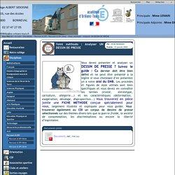 Collège Albert Sidoisne - Point méthodo : Analyser UN DESSIN DE PRESSE