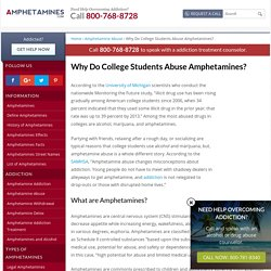 Why Do College Students Abuse Amphetamines?