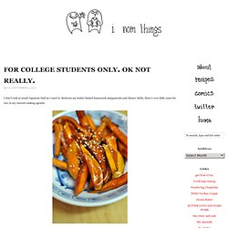 Daigaku Imo (college sweet potatoes)