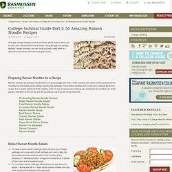 Amazing Ramen Noodle Recipes