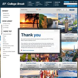 College Trips to Europe and Abroad | EF College Break