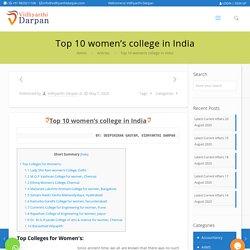 Top 10 women's college in India - Vidhyarthi Darpan