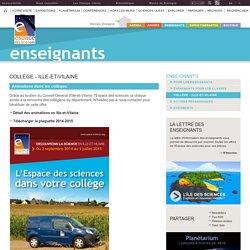 Collège - Ille-et-Vilaine