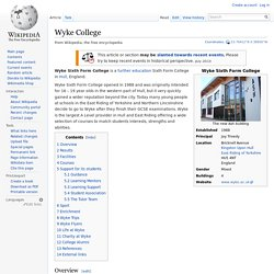 Wyke College