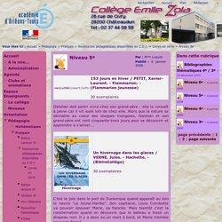 Collège E. Zola de Châteaudun - Niveau 5e