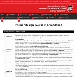 Best Interior Design Course - Rathore University