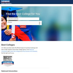 Best Colleges | Find the Best College for You | US News Education