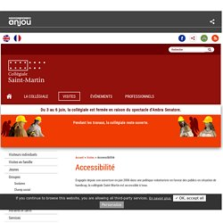 Collégiale Saint-Martin: Accessibilité