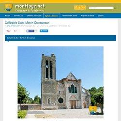 Collégiale Saint Martin Champeaux - seine et marne 77720 - église de Champeaux, montjoye.net