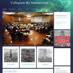 Collegium International