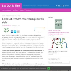 Collex.io Creer des collections qui ont du style
