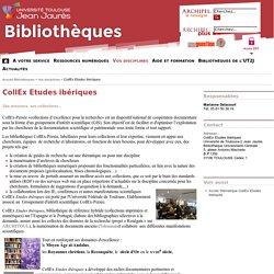 CollEx Etudes ibériques