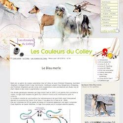 Le Colley: Génétique des couleurs du Colley - Collie coat color
