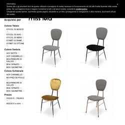 Lalabonbon - sedie stile anni 50 - anni 60 per arredamenti vintage