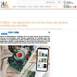 Collibris : une application et une box livres, des lecteurs comblés pour les fêtes