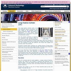 LHC - LHC 'Big Questions'