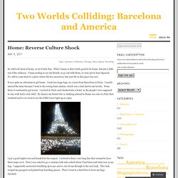 Two Worlds Colliding: Barcelona and America
