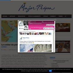 Le collier de perles chinois - Major-Prépa