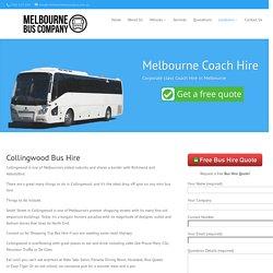 Collingwood Bus Hire - Melbourne Bus Company