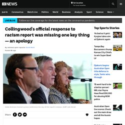 Collingwood's official response to racism report was missing one key thing — an apology