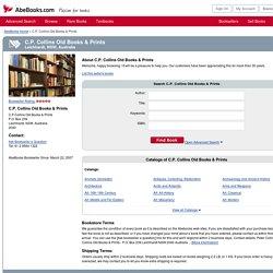 C.P. Collins Old Books & Prints - AbeBooks - Leichhardt