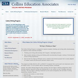 Collins Writing Program Introduction