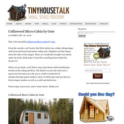Collinwood Micro Cabin by Gute
