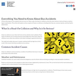 Everything You Need to Know About Bus Accidents