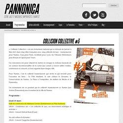 JAZZ : Collision collective au Pannonica à Nantes jusqu'au 22