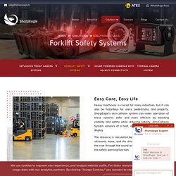 Anti Collision System for Forklift UAE