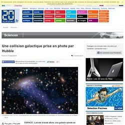 Hubble photographie une collision galactique
