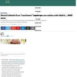 """Gérard Collomb vit un """"cauchemar"""" depuis que son salaire a été réduit à... 4000 euros"""