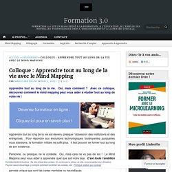 Colloque : Apprendre tout au long de la vie avec le Mind Mapping