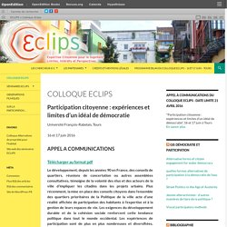 Colloque Eclips