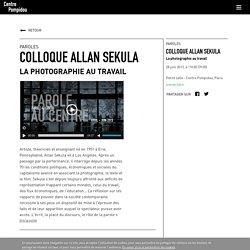 Colloque Allan Sekula