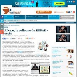 FAD 2.0, le colloque du REFAD - Succès