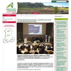 CHAMBRE D AGRICULTURE D AUVERGNE 03/03/15 Vidéo : Produits phytopharmaceutiques : protection de la santé des utilisateurs professionnels