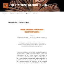 XXXIXe Colloque d'Albi. La sémiotique et les sciences II.