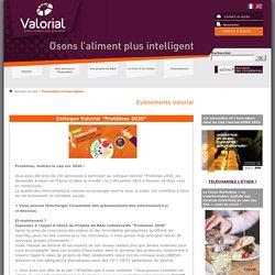 "Colloque Valorial ""Protéines 2030"""