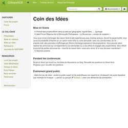 ColloqueSCB : IdeeColloque