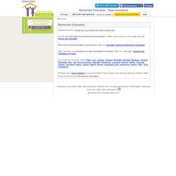 Recherche Colocation - Page inexistante