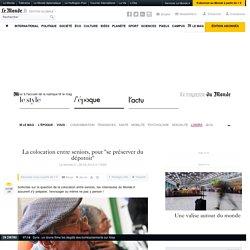 """La colocation entre seniors, pour """"se préserver du dépotoir"""" - 26/03/12"""
