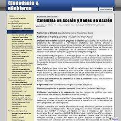 Colombia en Acción y Redes en Acción - Ciudadanía & eGobierno